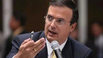 Primer cambio en el próximo gabinete: Ebrard por Vasconcelos