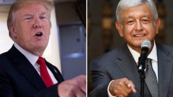 AMLO propone cuatro prioridades a Trump