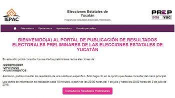 PREP de Yucatán y Guanajuato presentan fallas