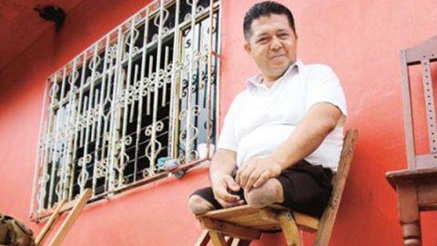 'Puedo gobernar sin piernas', asegura el alcalde electo de Chiapas