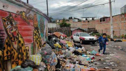 Chilpancingo, en alerta sanitaria por basura