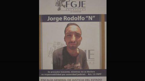 Detienen en Zacatecas a presunto feminicida de niña San Juana