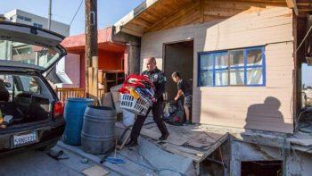Falla geológica colapsa cuatro casas en Tijuana; desalojan 22 viviendas