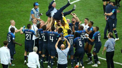 Francia, Champion du Monde; vence a Croacia 4-2