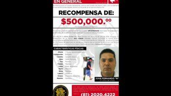 Ofrecen medio millón por la captura de presunto asesino de Ana Lizbeth