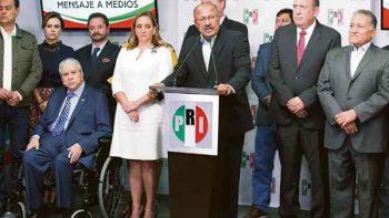 'Cambio del PRI debe ser del tamaño de la derrota'