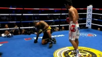 Pacquiao muestra que aún hay punch