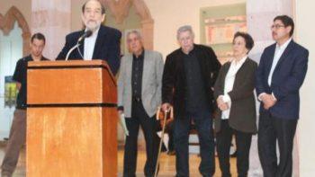 Pellicer presenta su exposición 'Abstracto' en Zacatecas