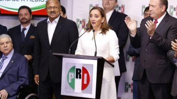 No temo ser oposición, dice Ruiz Massieu, nueva presidenta del PRI