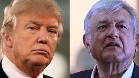 López Obrador pide a Trump finalizar negociación del TLCAN