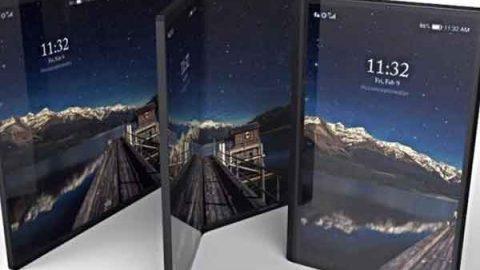 Teléfono plegable de Samsung llegaría en 2019