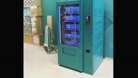 Tiffany & Co presenta su máquina expendedora de perfumes