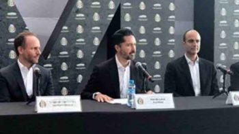 Presentan a Yon de Luisa como nuevo presidente de Femexfut