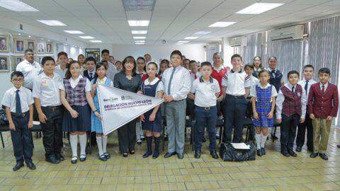 Abanderan a Delegación Nuevo León de la Olimpiada del Conocimiento Infantil 2018