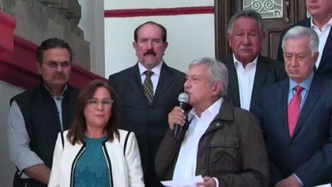 AMLO designa a Bartlett en CFE, Romero en Pemex y Nahle en Energía