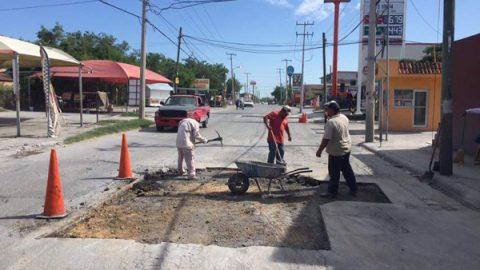 Rehabilita Municipio avenida México