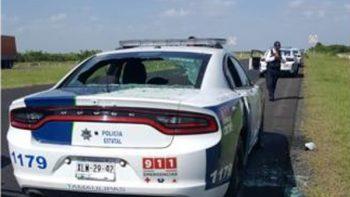 Atacan a policías en Tamaulipas; un muerto y 3 heridos