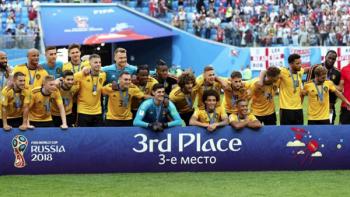 Bélgica gana 2-0 a Inglaterra y se queda con tercer lugar de la Copa