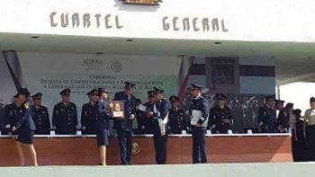 Preside Cienfuegos Zepeda ceremonia de retiro de 15 Generales