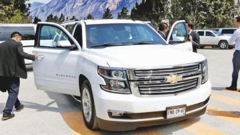 Gobernador de Coahuila gasta 25 millones en camionetas blindadas