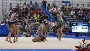 México obtiene oro en gimnasia rítmica