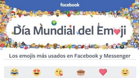 Facebook celebra el Día del Emoji