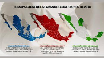 Elección mete en crisis al PRI, PAN y PRD