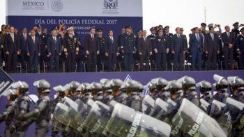 Peña Nieto conmemora 90 años de la Policía Federal
