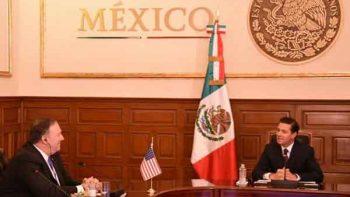 Peña pide a delegación de EU reunificación de familias separadas