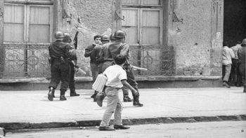Ernesto Zedillo fue captado en dos fotografías del Movimiento del 68
