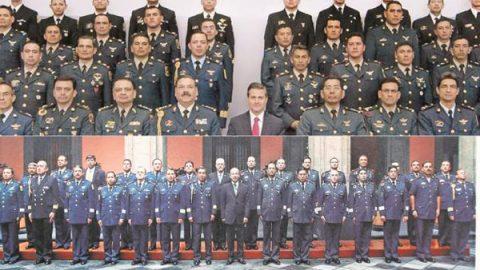 Ellos son los últimos guardias del Presidente