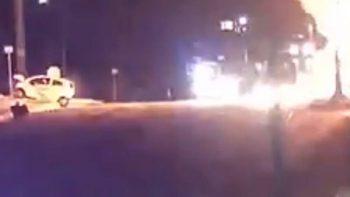 Explota pipa de Pemex en accidente automovilístico