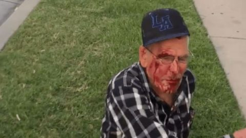 En EU golpean con un ladrillo a mexicano