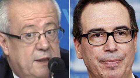 Futuro secretario de Hacienda se reúne con titular del Tesoro de EU