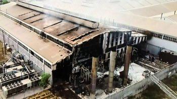 Reportan controlado incendio en fábrica de San Nicolás