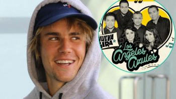 Los Ángeles Azules quieren dueto con Justin Bieber
