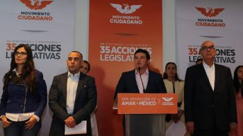 Va Movimiento Ciudadano contra 'gasolinazo' en Senado