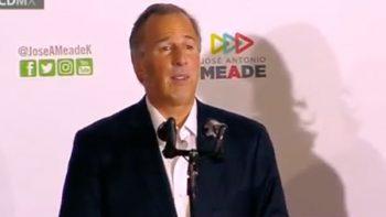 Reconoce Meade triunfo de Andrés Manuel López Obrador
