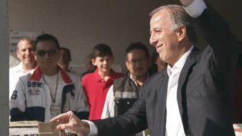 José Antonio Meade vota al sur de la CDMX