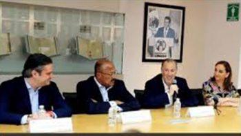 Se reúne Meade con dirigencia del PRI para agradecer apoyo