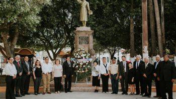 Recuerdan 207 aniversario luctuoso de Miguel Hidalgo y Costilla