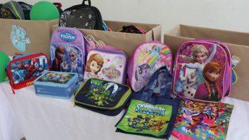 Arranca colecta de útiles para niños vulnerables