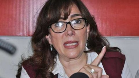 'Si quieren asegurarse, que paguen': presidenta de Morena