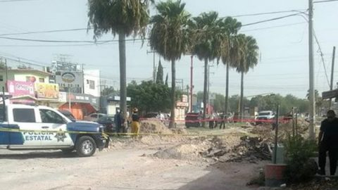 Muere motociclista al caer a un socavón