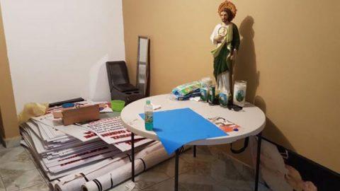 Hallan arsenal y pancartas contra la Marina en Nuevo Laredo