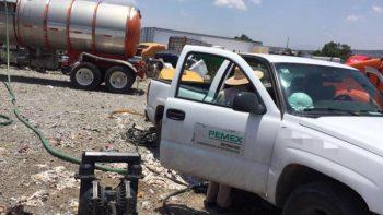 PGR entrega a Pemex más de 911 mil litros de hidrocarburo asegurado