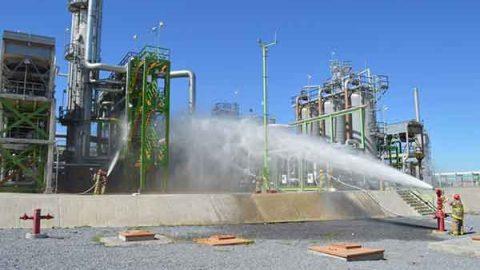 Pemex realiza simulacro en el Día Nacional de la Preparación y Emergencias Químicas