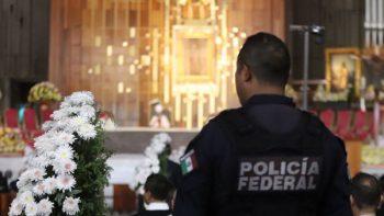 Celebran misa en la Basílica de Guadalupe por 90 aniversario de la PF