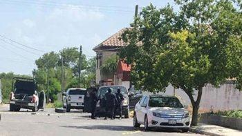 Agresión a policías termina con dos abatidos en Miguel Alemán