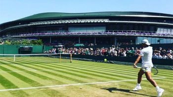 Rafael Nadal gana en su debut de Wimbledon